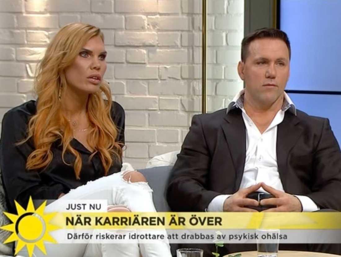 Laurén och Lidberg berättar i Nyhetsmorgon om tuffa tiden