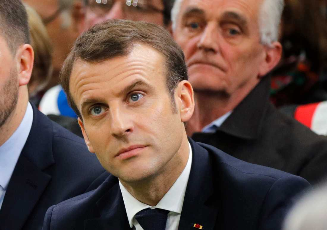 Emmanuel Macron, Frankrikes president.