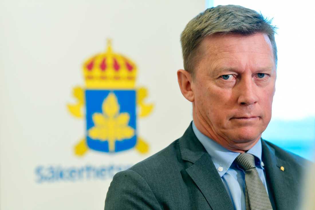 Säkerhetspolischef Klas Friberg.