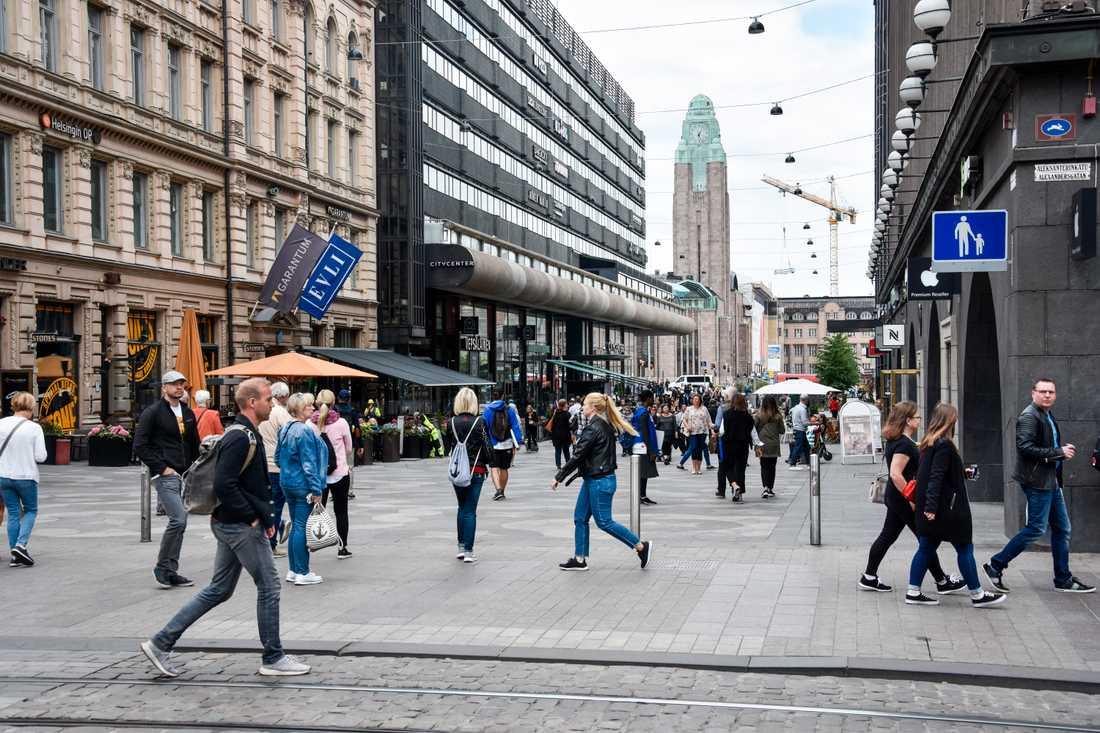 Resenärer från 17 europeiska länder tillåts resa till Finland och huvudstaden Helsingfors. Arkivbild.