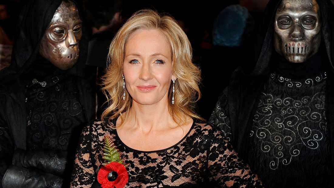 J.K. Rowling, skaparen av Harry Potter.