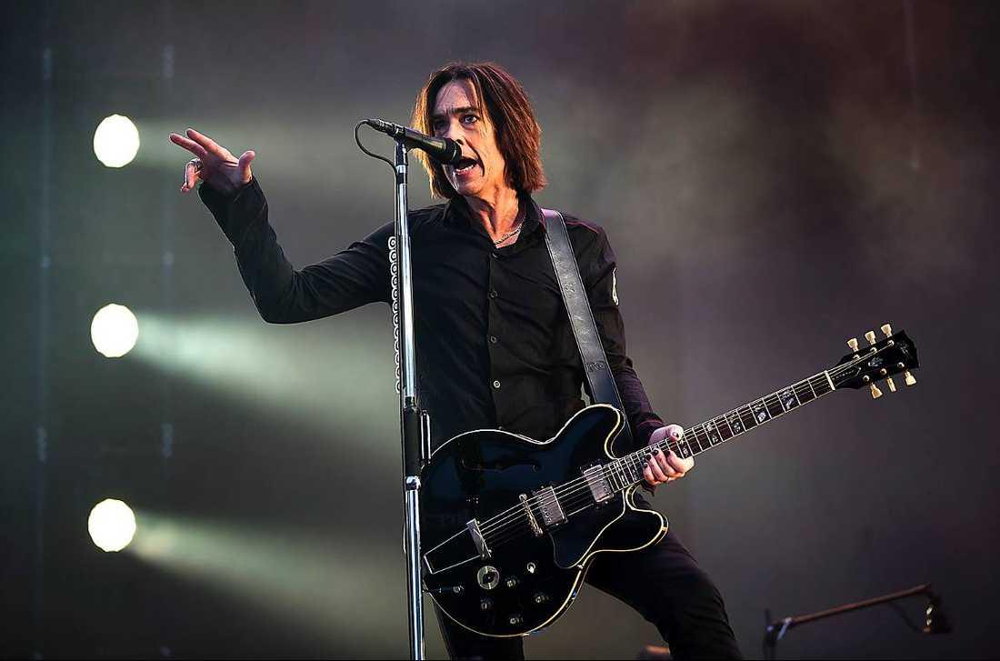 Bandet fick kämpa mot dåligt ljud under delar av konserten.