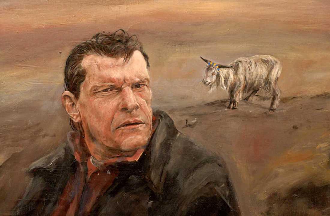 Omdebatterad målning av Markus Andersson.