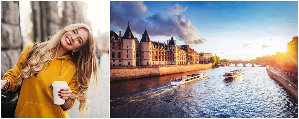 Upptäck nya saker i Paris.