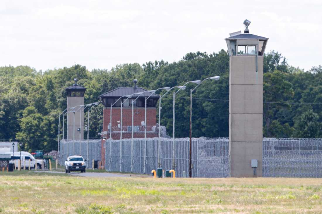 Det federala fängelset i Terre Haute, Indiana.