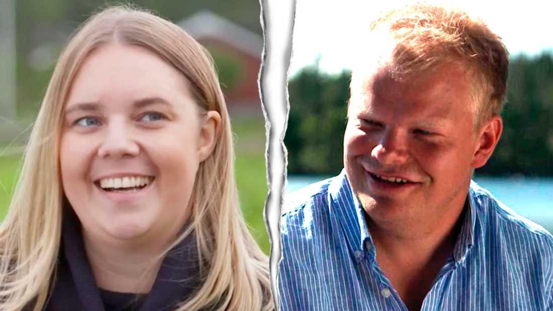 Sofie Öhman och Per Solberg.