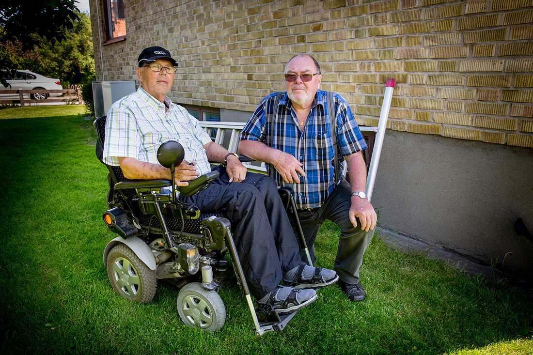 Leif Utterström och Gert Molin fick liksom sina arbetskamrater cancer.