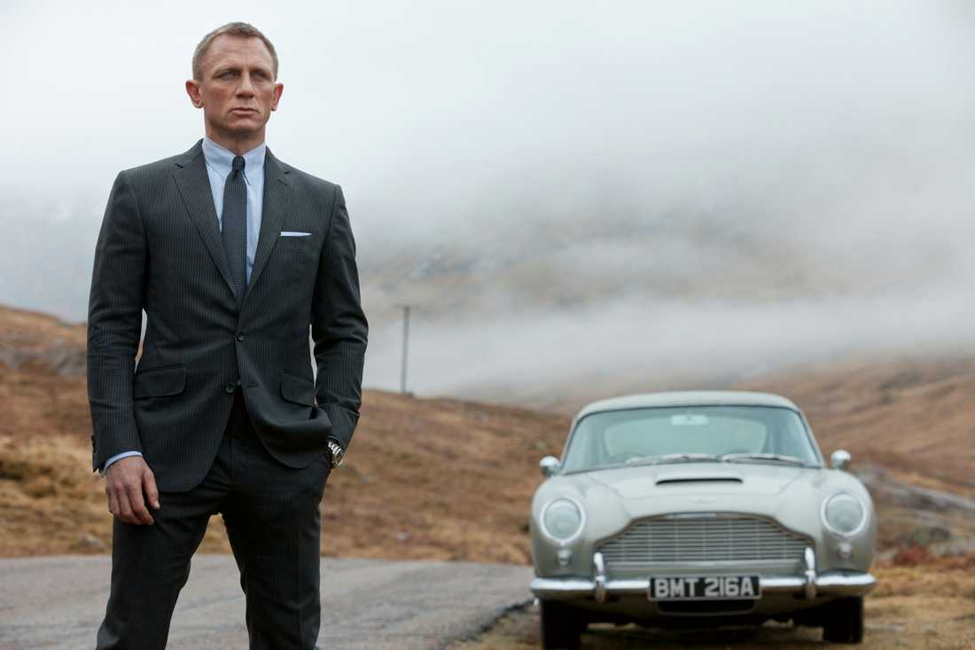 "Eric har bland annat synts i James Bond-filmen ""Skyfall""."