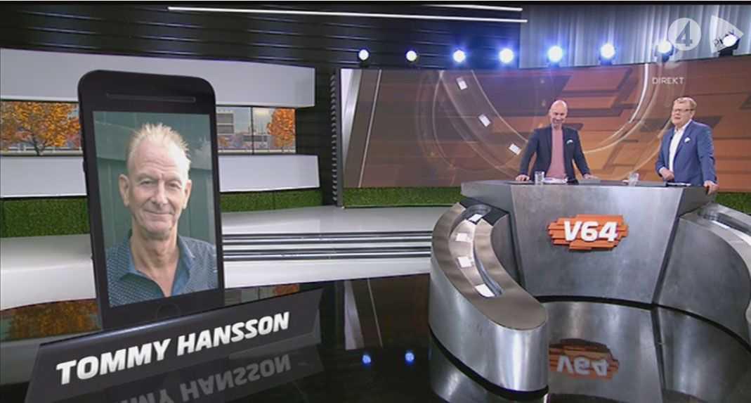 I söndags var Tommy med på telefon i tv.