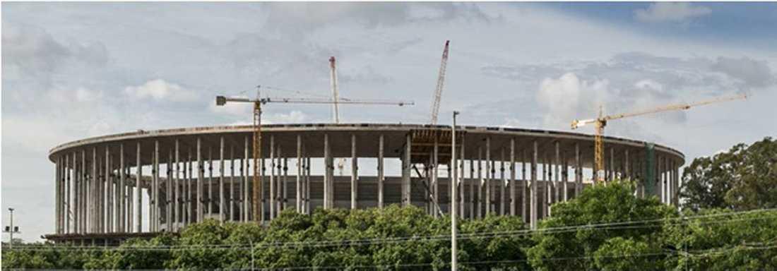 BRASILIA Estádio nacional de brasilia (Kapacitet: 71 412)
