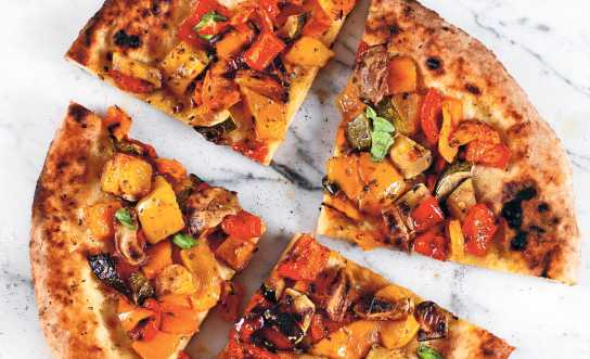 Vegetarisk pizza – Paolos pizza alle verdure