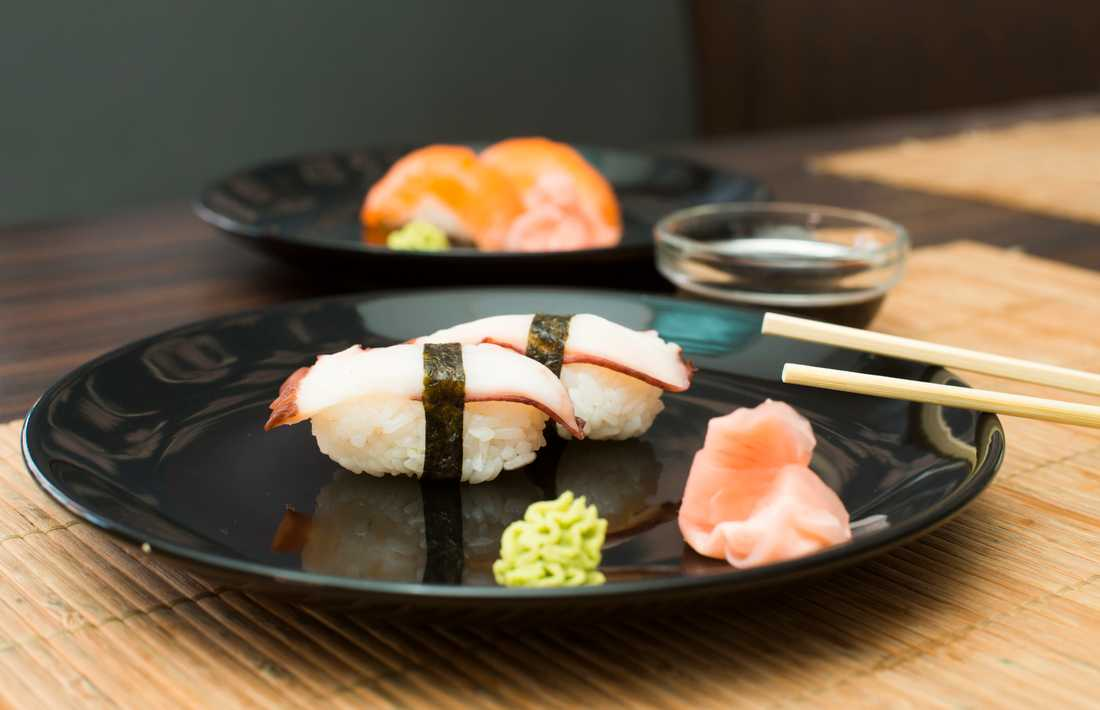 sushi kalorier 12 bitar