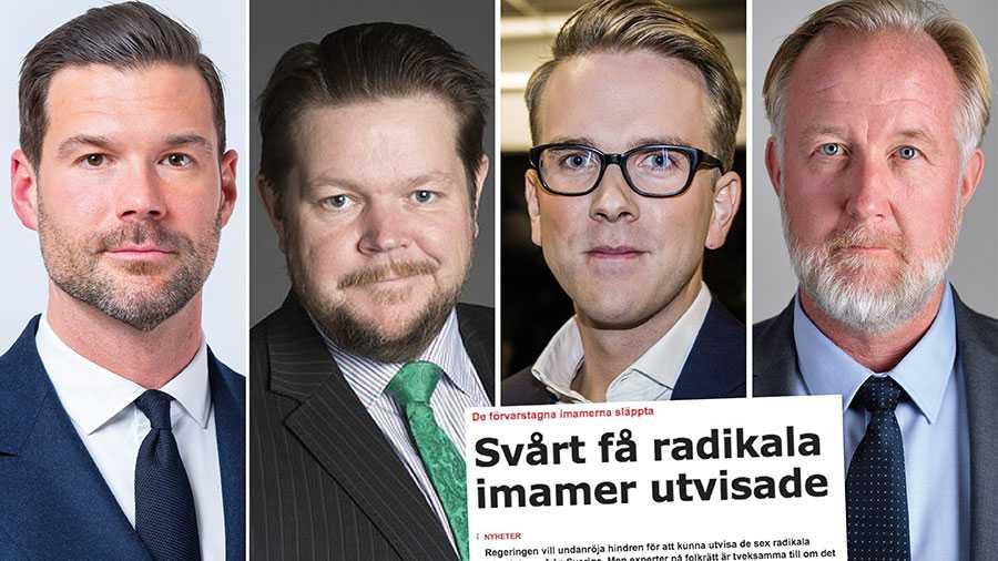 Regeringens förslag löser inte problemen med utvisningsdömda personer som utgör ett säkerhetshot mot Sverige. Vi kräver att en ny utredning tillsätts för att möta hotet från terror och extremism, skriver Johan Forssell, Johan Hedin, Andreas Carlsson och Johan Pehrson.