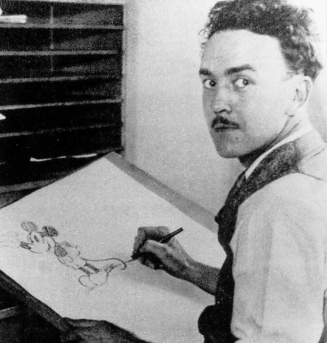 Ub Iwerks ritade första Musse Pigg 1928.