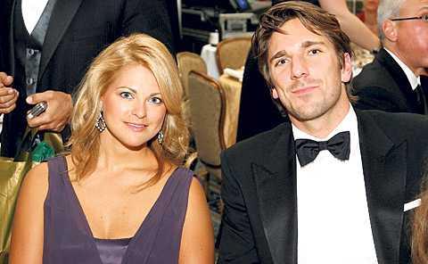 KUNG HENKE Prinsessan Madeleine brukar umgås med hockeystjärnan Henrik Lundqvist när hon är i USA. Här tillsammans under en välgörenhetsgala i New York 2008.