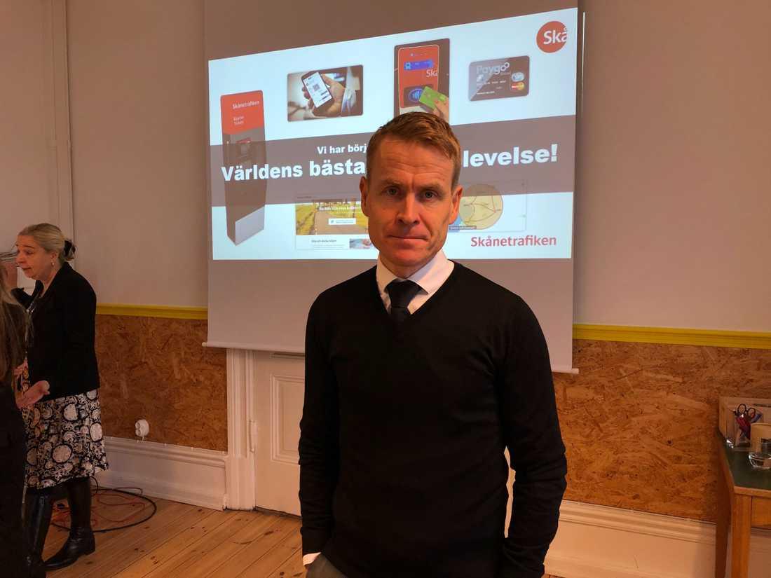 Linus Eriksson, trafikdirektör