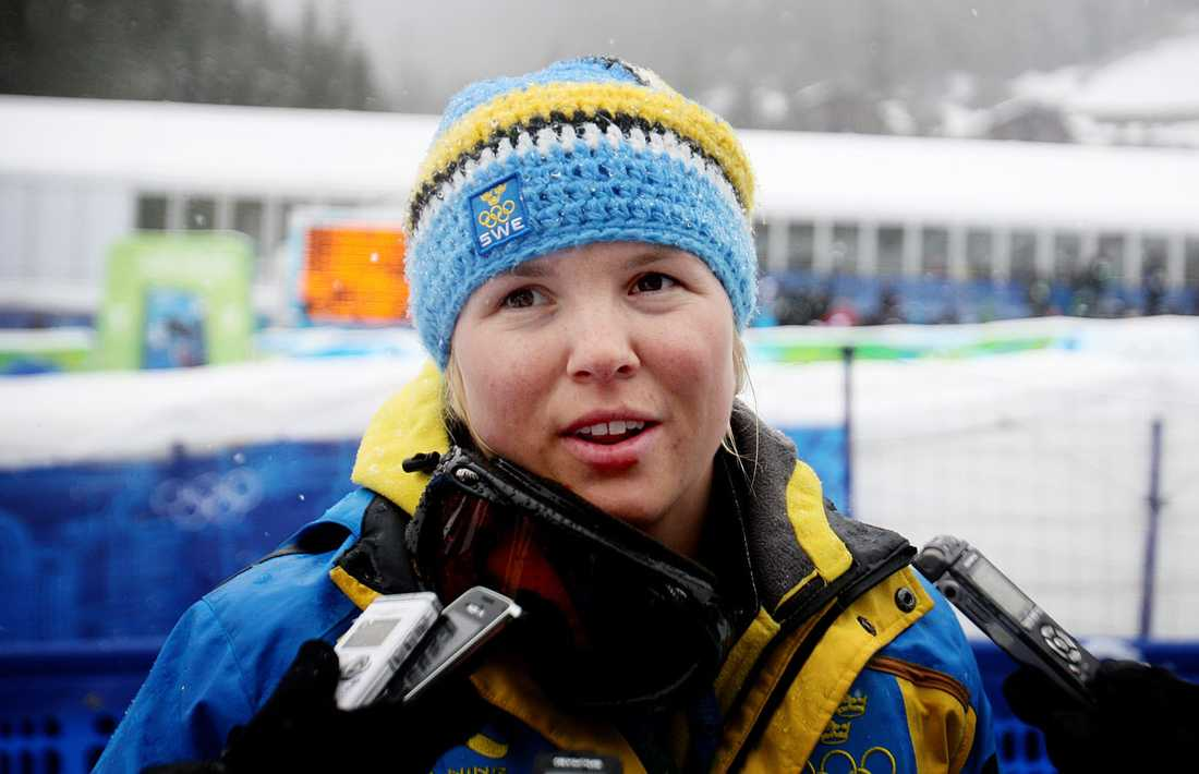 7) Anja Pärson - 7,2% Anja Pärson.