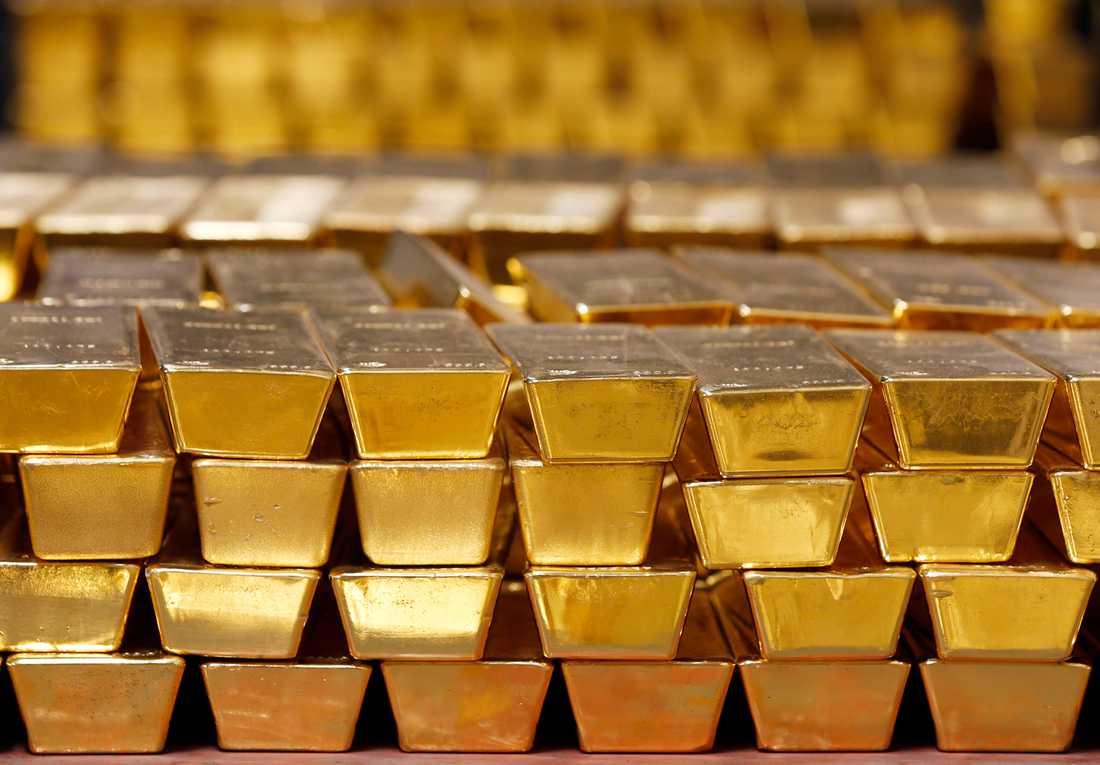 Priset på guld ökar i spåren av coronapandemin. Arkivbild.