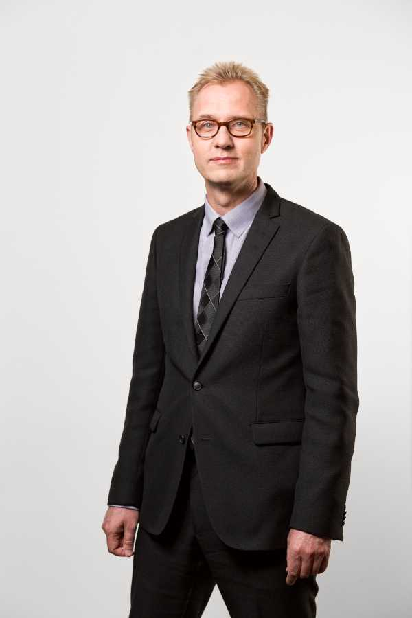 Sten Eriksson, kommunikationschef på Pensionsmyndigheten