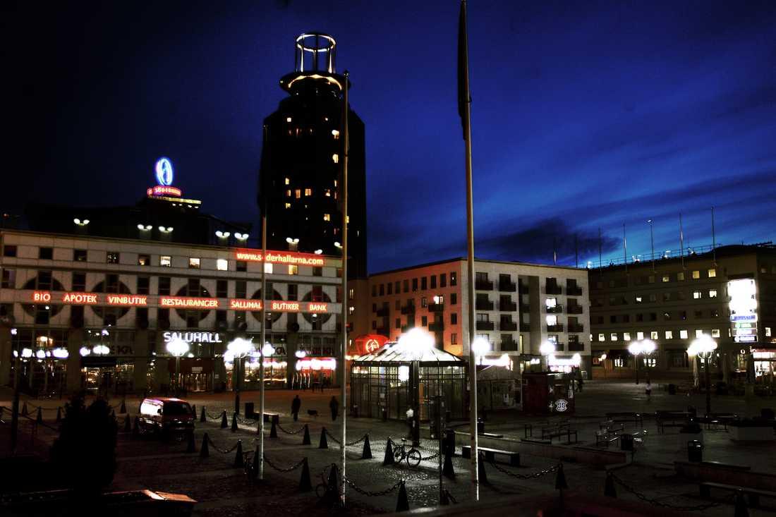 Arkivbild: Medborgarplatsen på Södermalm i Stockholm.