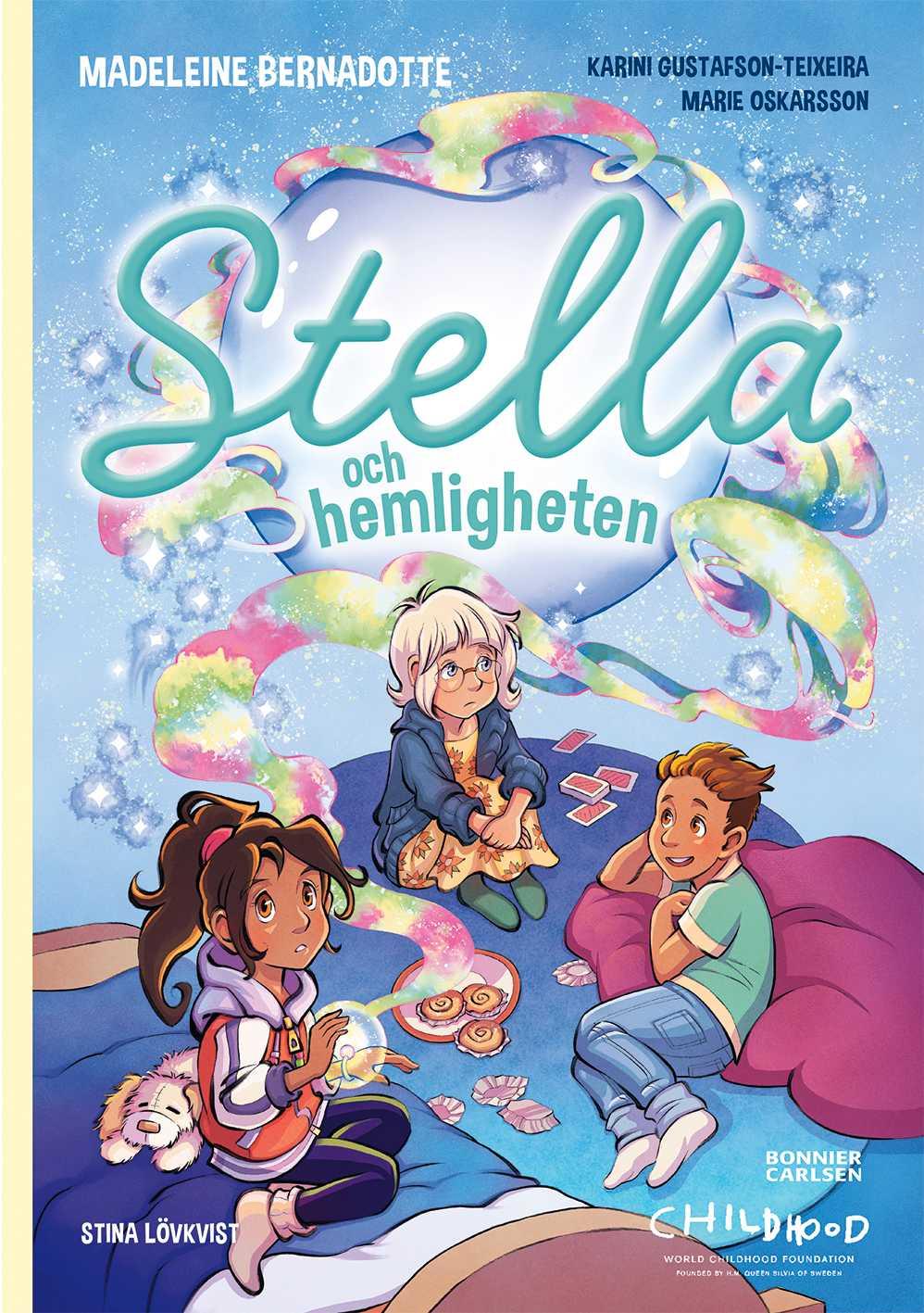 Prinsessan Madeleine skriver bok för barn.