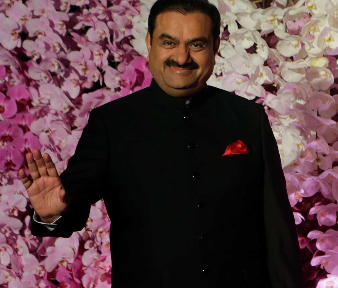 Miljardären Gautam Adani, 56.
