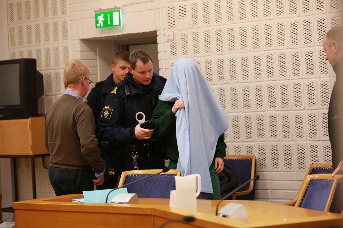 Häktningsförhandling i Lunds tingsrätt mot 26-årige mannen.