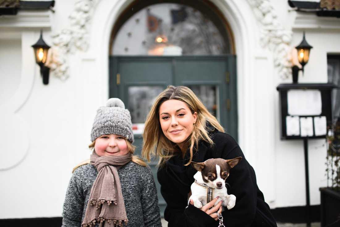 8-åriga sjuka Klara fick träffa idolen Bianca Ingrosso.