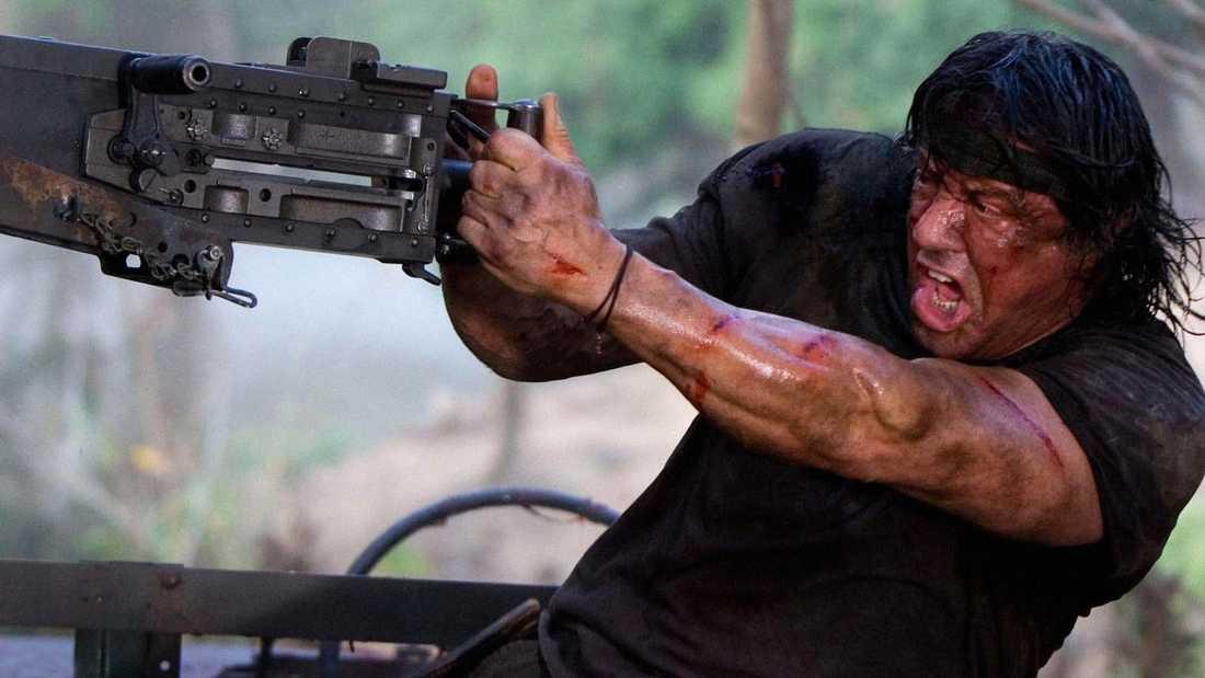 """""""Rambo"""" (2008)."""