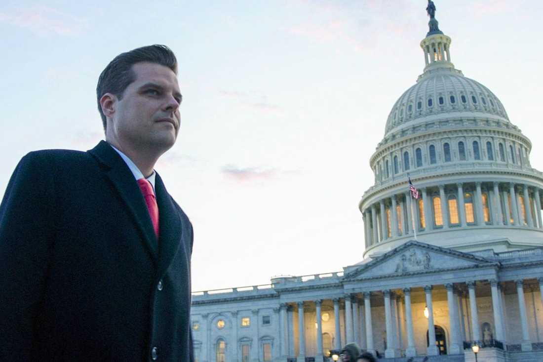 "Matt Gaetz i ""The swamp""."
