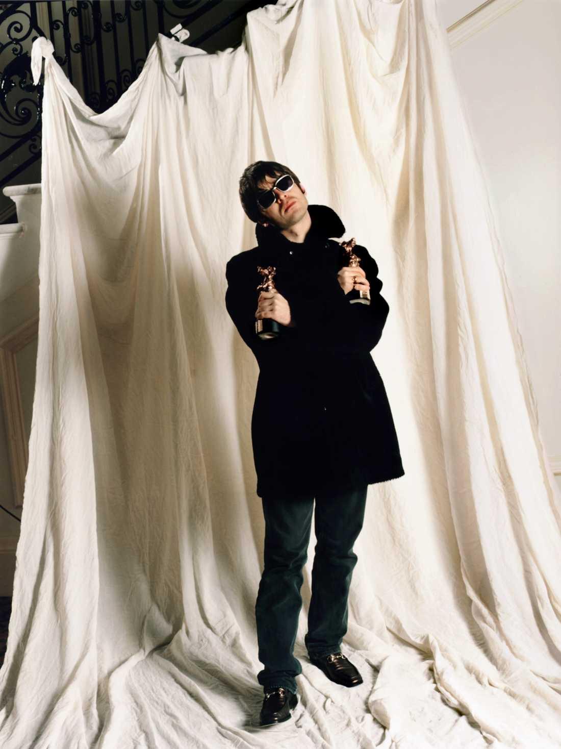 Stöddigt Oasis Noel Gallagher 1996.