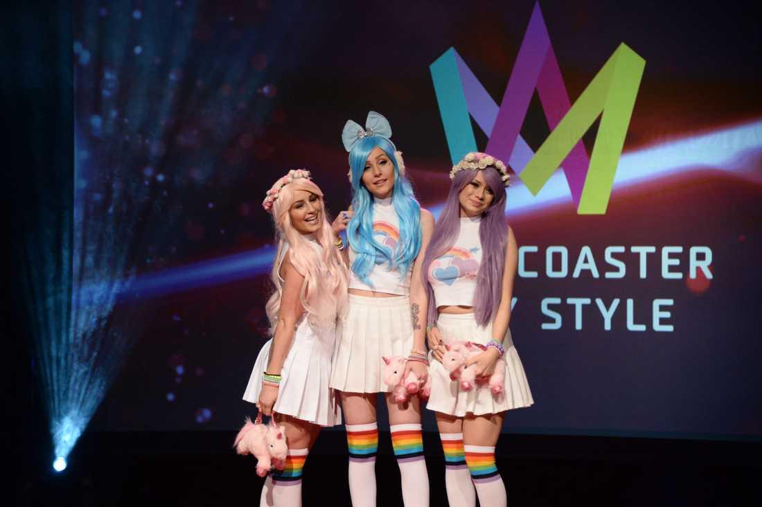 Två av tre är nya medlemmar i Dolly Style.