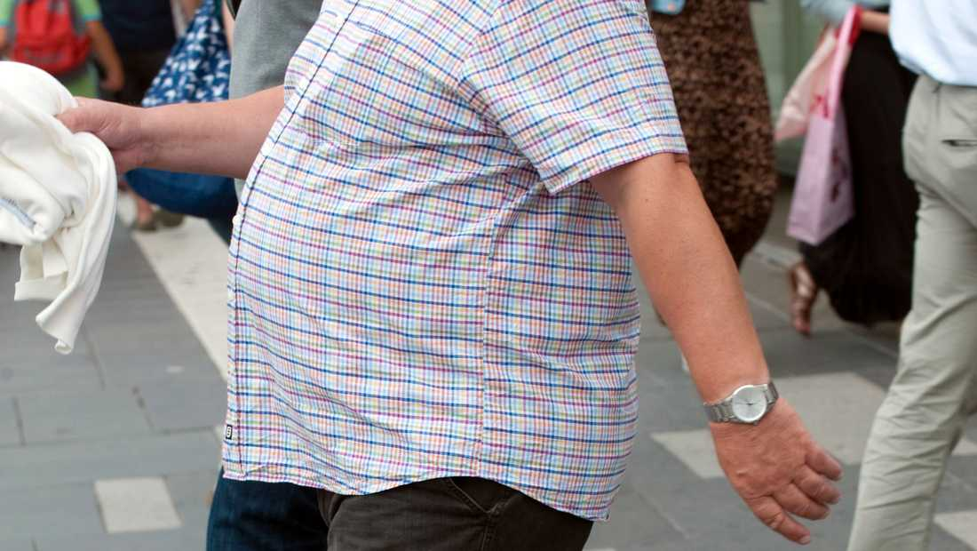 Även om du är fysiskt aktiv är fetman farlig.