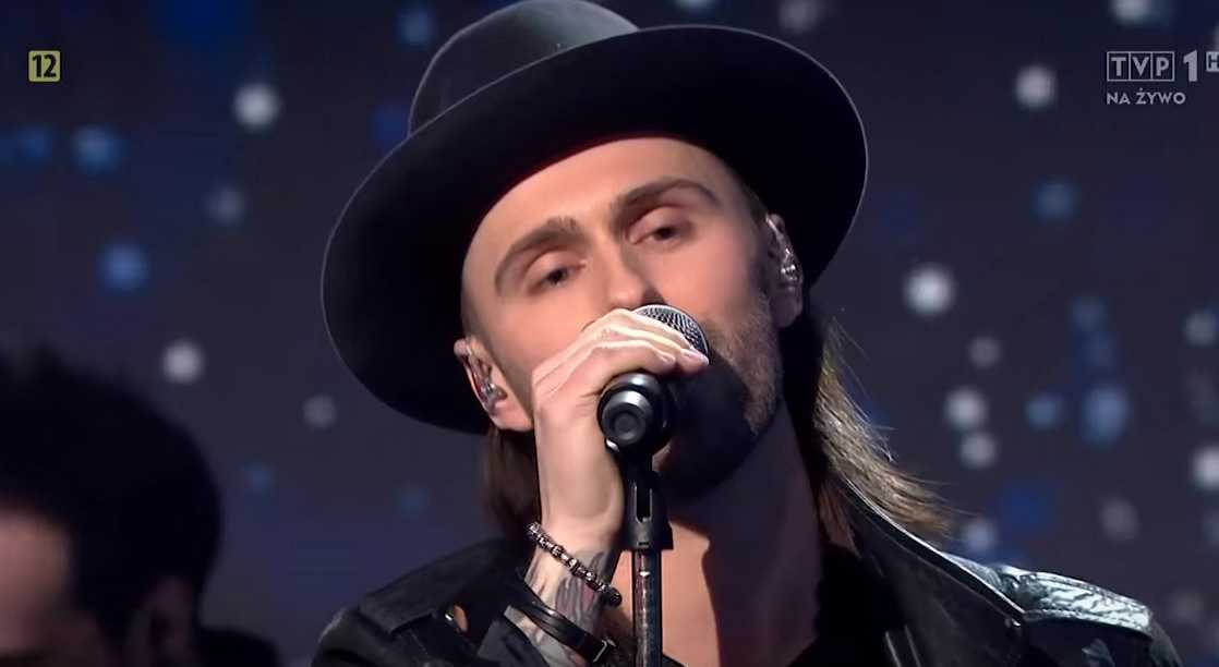 """Lukas Meijer vann polska Melodifestivalen med bidraget """"Light me up""""."""