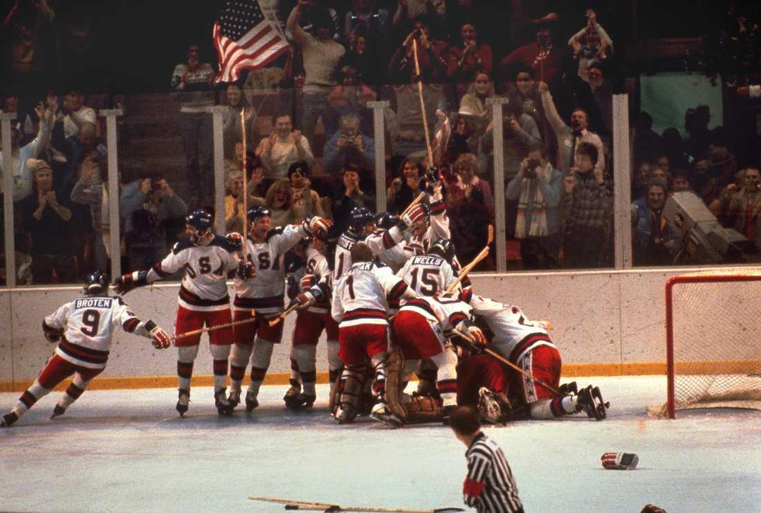 USA gjorde det omöjliga mot Sovjet i finalrundan av OS 1980.