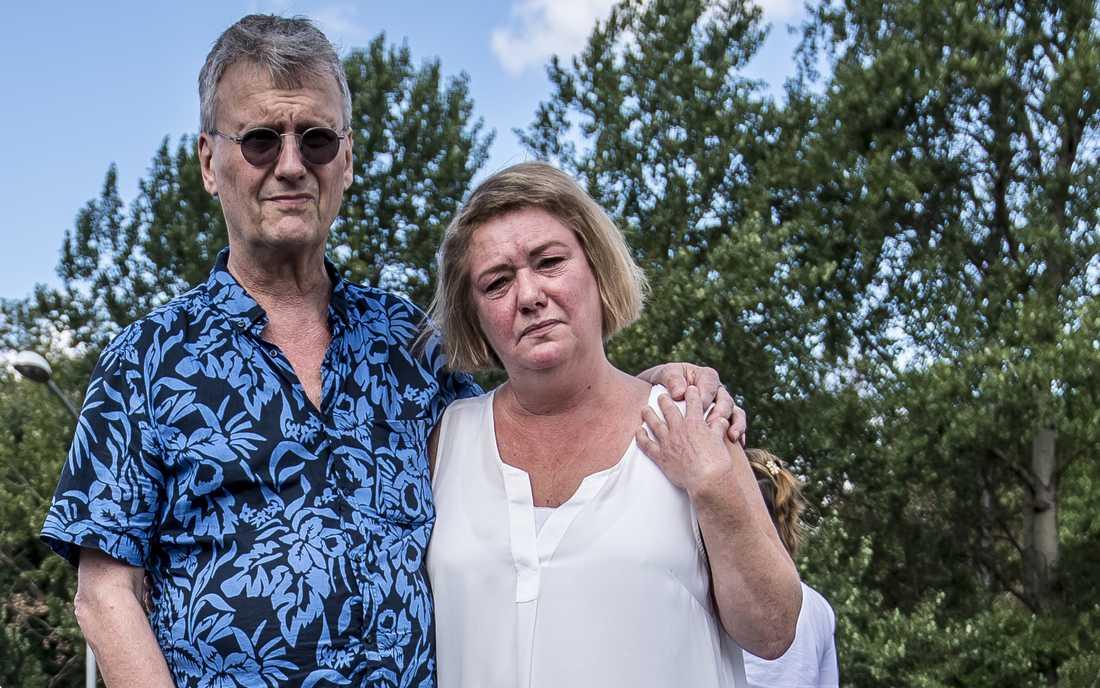 Eric Torells föräldrar.