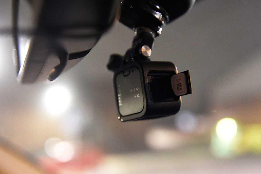 Kameran i bilen.