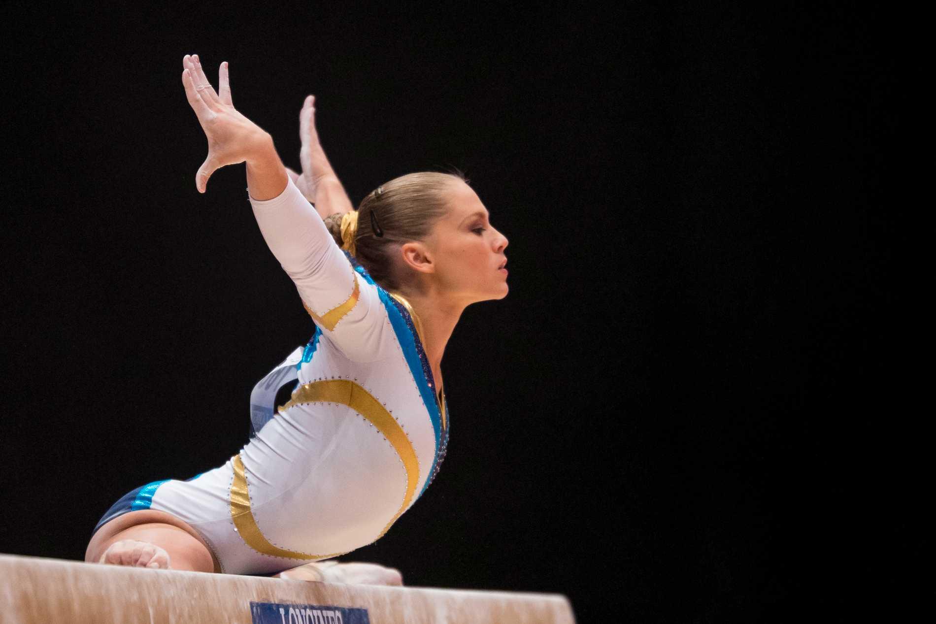 Veronica Wagner under en tävling i Glasgow 2015.