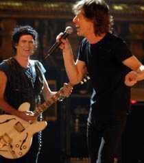 Mick Jaggers energi imponerar.