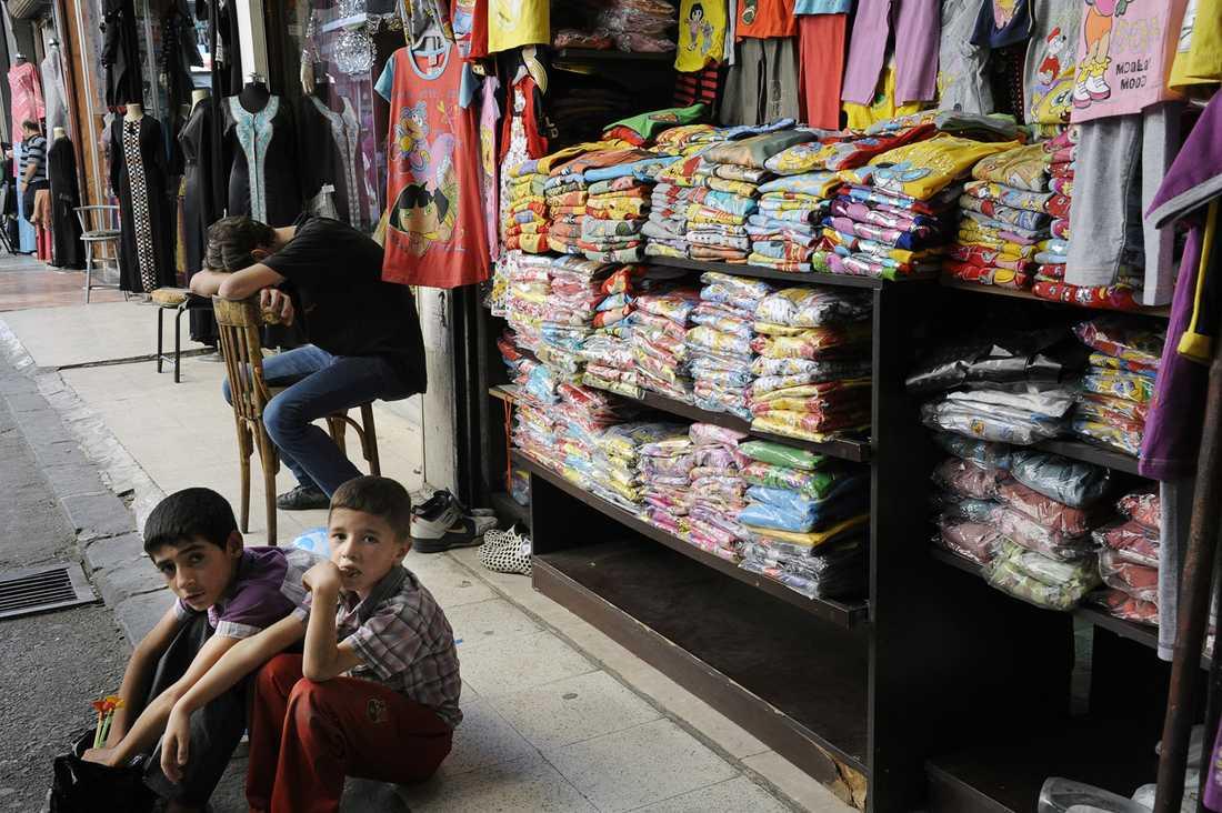 Dåliga affärer i  Damaskus.