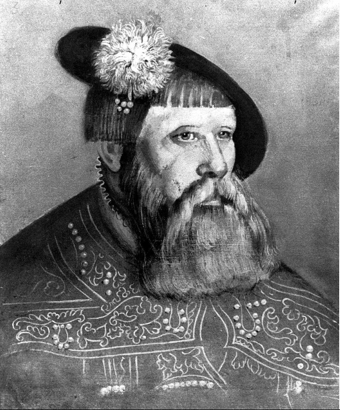 Gustav Vasa, kung i Sverige 1523-1560.