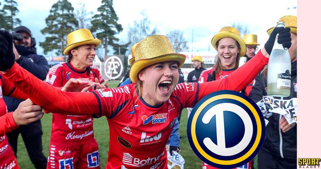 Linköping vann damallsvenskan 2017.