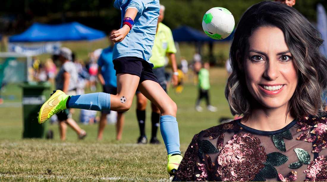 Mammors närvaro i sportvärlden skulle kunna bidra till färre sexuella övergrepp, menar Nina Campioni.