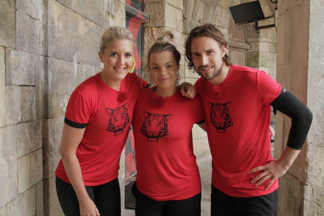 Jonna Lundell, Klara Svensson och Kevin Walker.