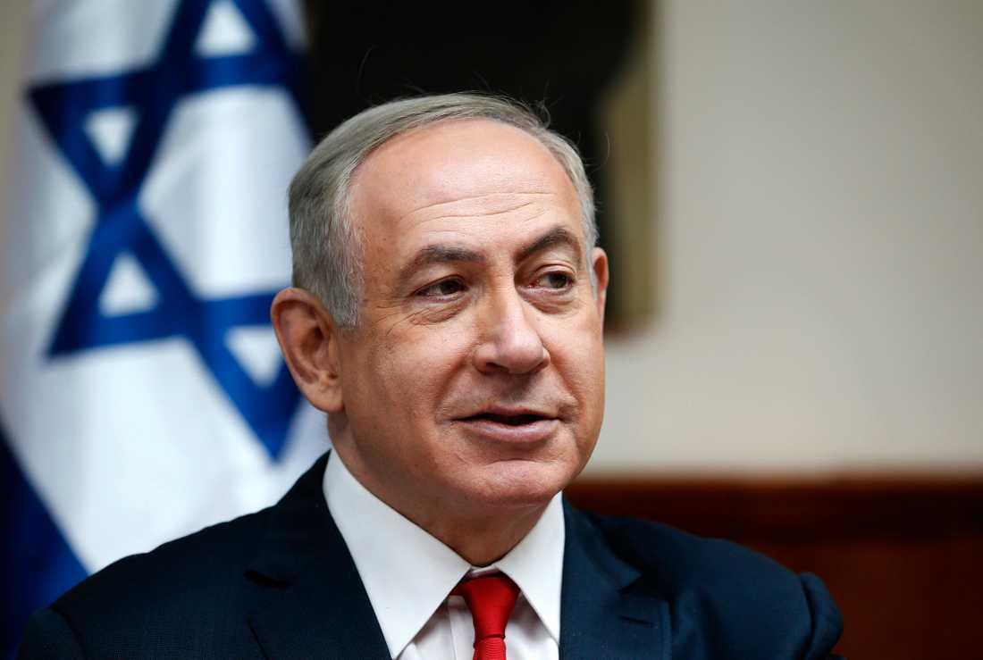 Israels premiärminister Benjamin Netanyahu lovar att inga bosättningar ska avvecklas. Arkivbild.