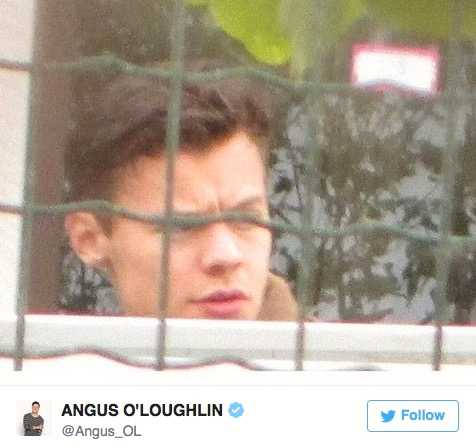 Harry Styles nya frisyr Efter veckor av väntan dök bildbeviset upp på Harry och hans nya frisyr