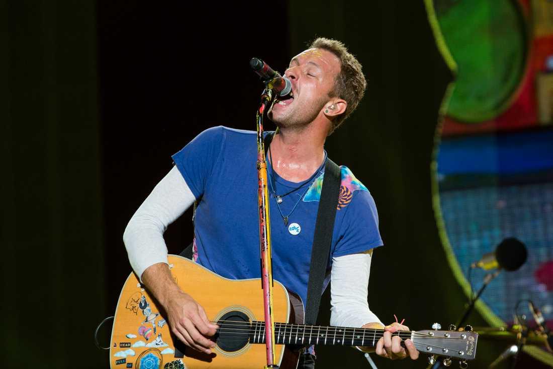 Chris Martin är sångare i Coldplay.