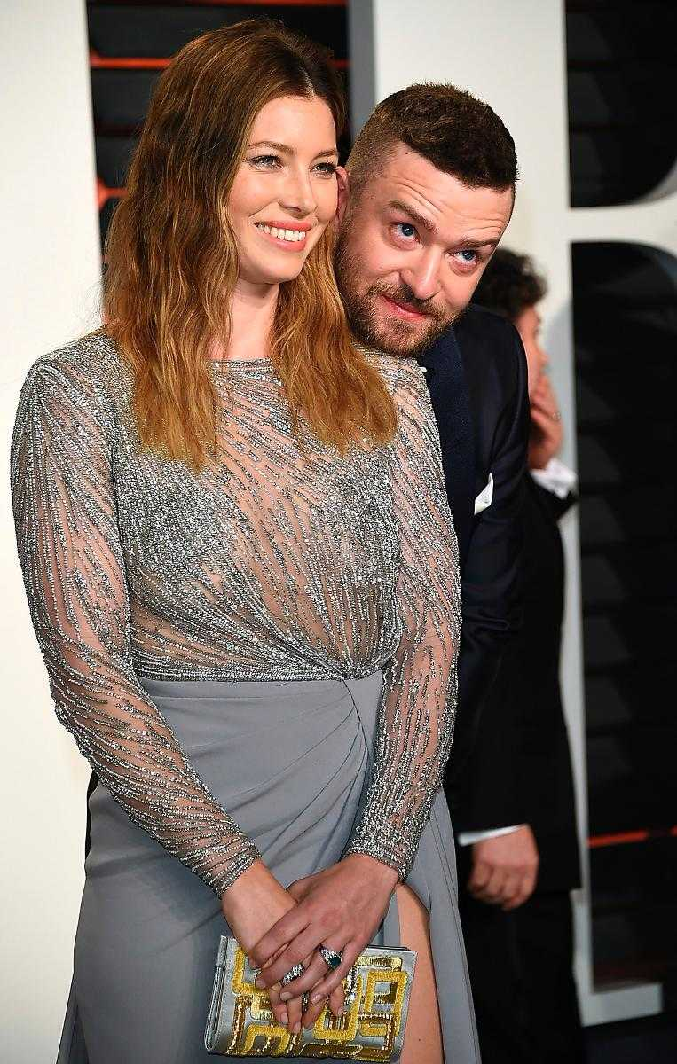 Biel och Justin Timberlake.