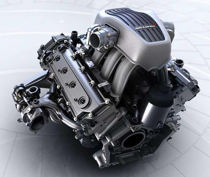 V8-motorn utvecklar 600 hästar.