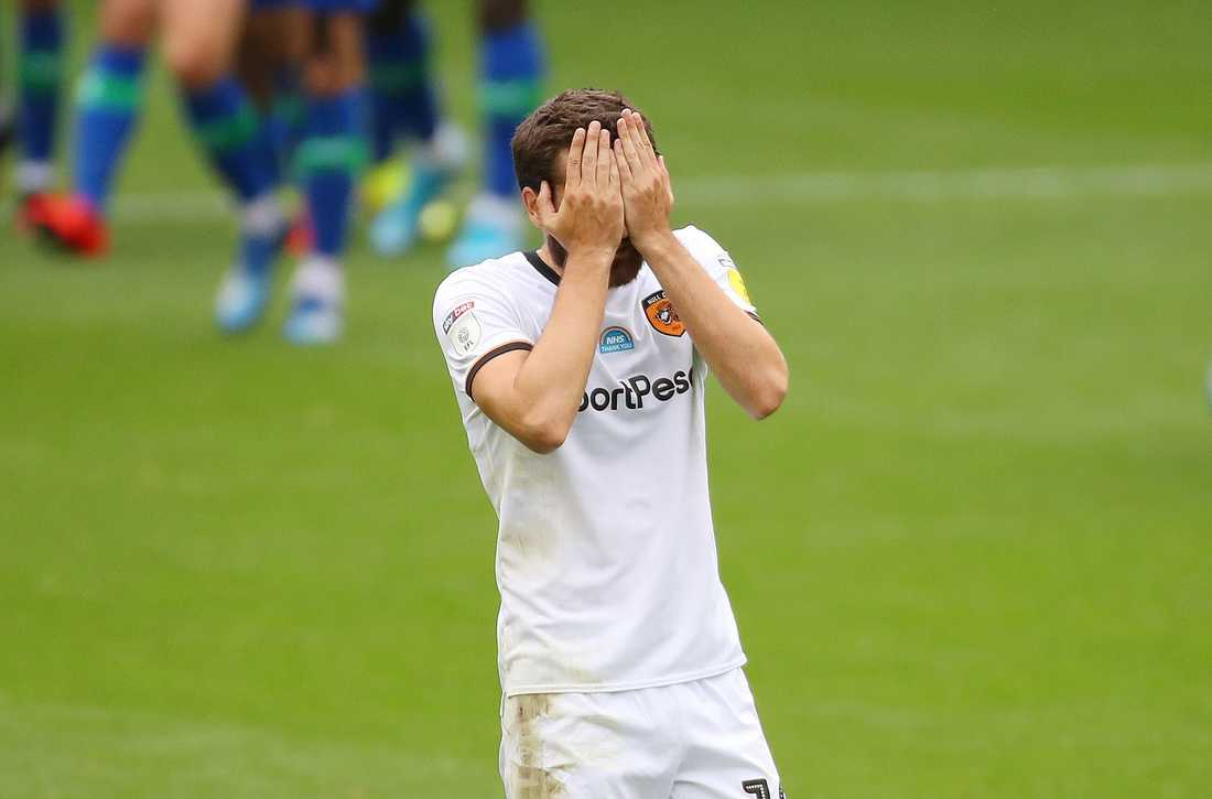 Jon Toral i Hull hade inte mycket att glädjas över.